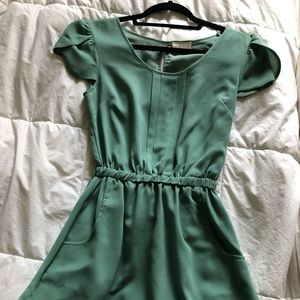 Pins and Needles Light Green Dress from Urban